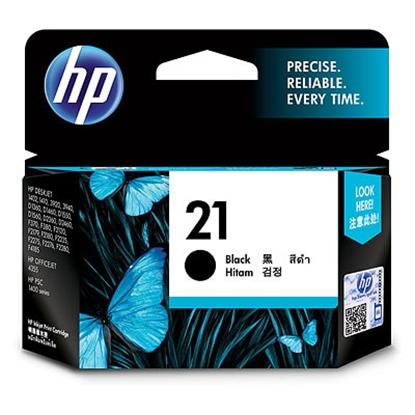 Picture of HP 21 Black Original Ink Cartridge