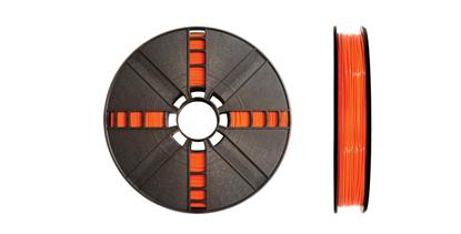 Picture of Large True Orange PLA 1.75mm, .9 kg. [2.0 lbs.]