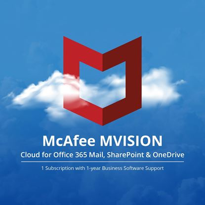Picture of MVISION Cloud for Microsoft Office O365 Mail / SharePoint and OneDrive MVC O365 MailShrpt1Drv 1:1 BZ