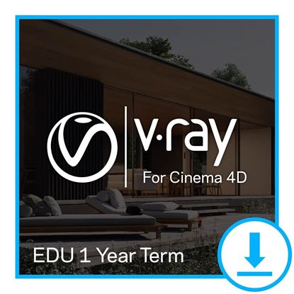 Picture of EDU 1 Year Term - V-Ray for Cinema 4D